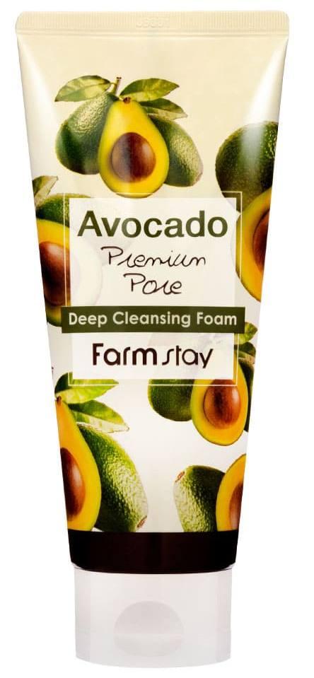 FARMSTAY Пенка очищающая с экстрактом авокадо 180 мл