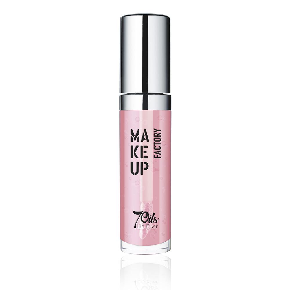 MAKE UP FACTORY Масло для губ, 15 сочный розовый / 7 Oils Lip Elixir