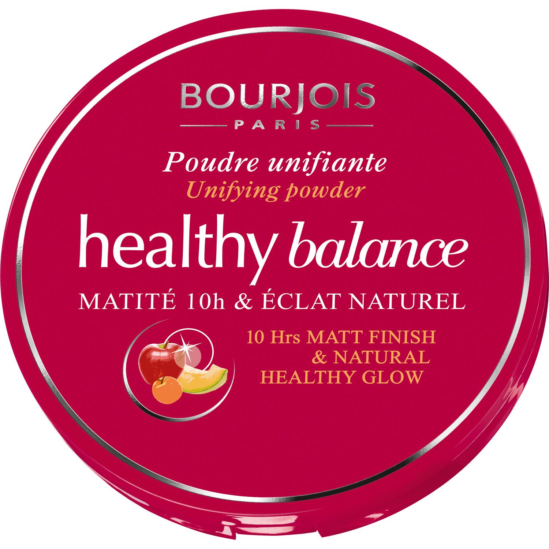 BOURJOIS Пудра компактная выравнивающая 53 / Healthy Balance beige clair