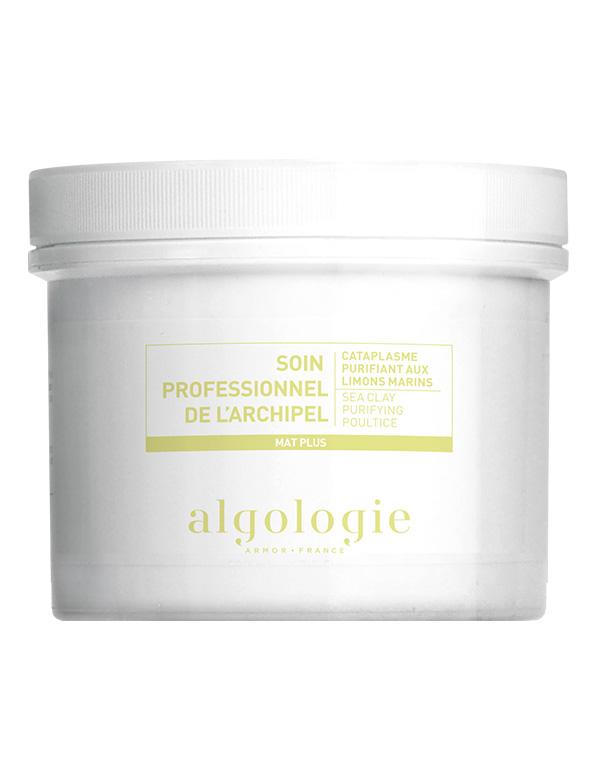 ALGOLOGIE Маска-компресс очищающая с морской глиной для жирной кожи 140 г