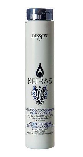DIKSON Шампунь укрепляющий против выпадения волос / SHAMPOO RINFORZANTE ENERGIZZANTE KEIRAS 250 мл dikson укрепляющий шампунь с гидрализованными протеинами риса для нормальных волос 1000 мл