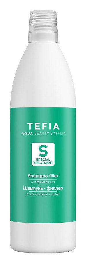 TEFIA Шампунь-филлер с гиалуроновой кислотой / Special Treatment 1000 мл фото