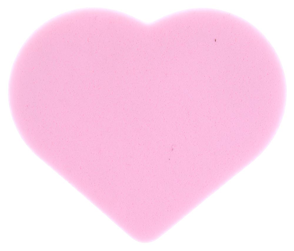 TITANIA Губка макияж 1шт/упГубки<br>Губка макияжная поролоновая в форме сердца. Обеспечивает комфортное нанесение макияжа.<br>
