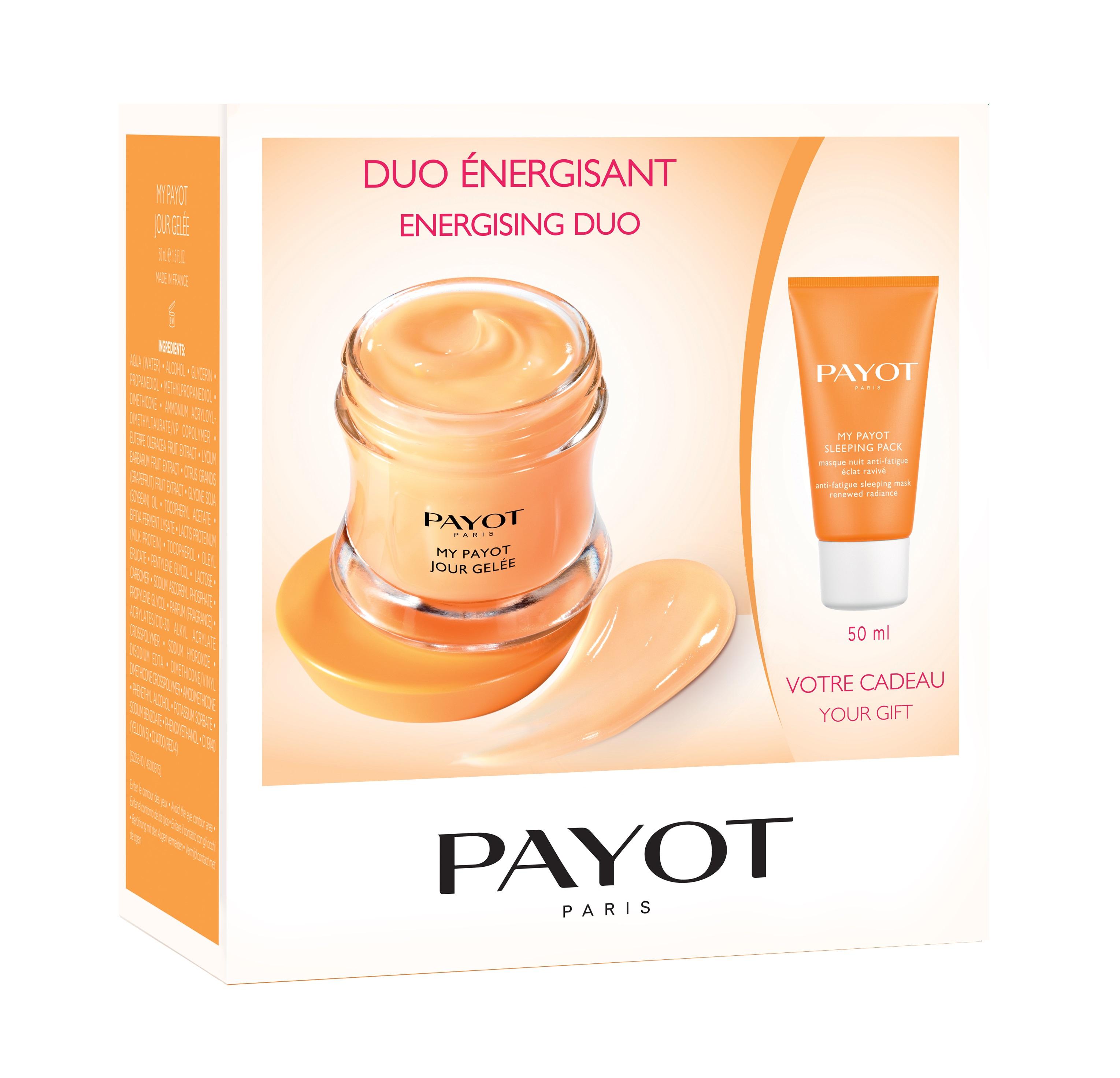 PAYOT Набор Промо для лица (энергетическое желе для сияния кожи 50 мл, ночная энергетическая маска против усталости 50 мл) My Payot