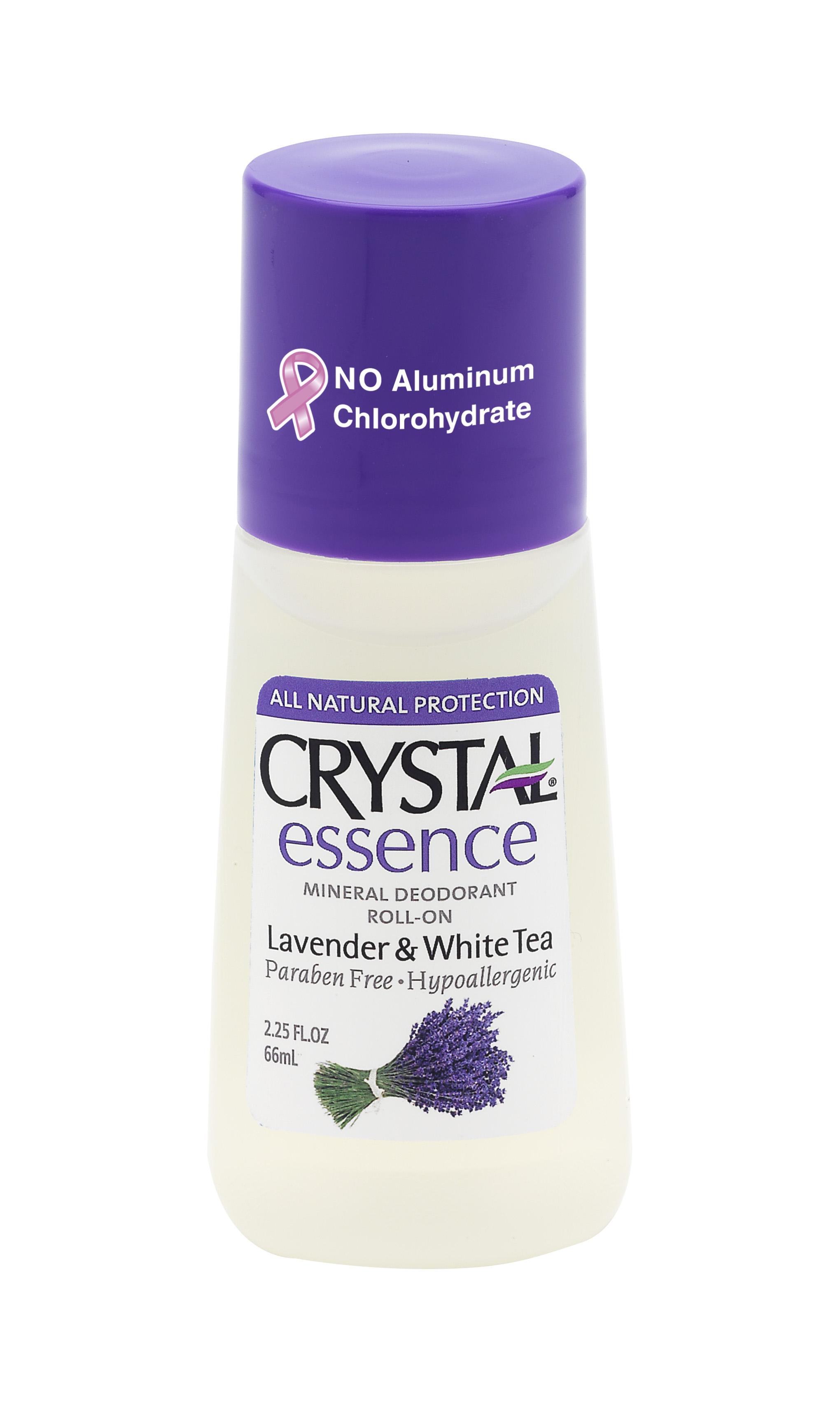 CRYSTAL Дезoдорант роликовый Лаванда+Белый чай / Crystal ROLL-on Lavander  White Tea 66мл