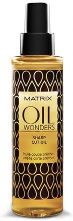 MATRIX Масло для стрижки / ОИЛ ВАНДЕРС 125 млМасла<br>Облегчает скольжение лезвий ножниц. Для более точного среза. Кондиционирует волосы, облегчая укладку. Удерживает влагу внутри волоса во время стрижки. Для нанесения на влажные/сухие волосы, а также прямо на лезвия ножниц/бритвы. Активные ингредиенты: марокканское аргановое масло. Способ применения: перед употреблением флакон хорошо встряхнуть. Распылить равномерно 3-4 нажатия по подсушенным полотенцем волосам. Стричь как обычно.<br>