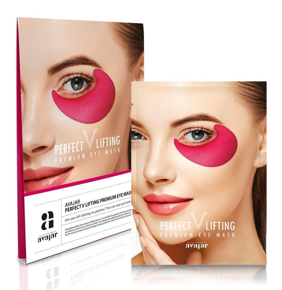 Купить AVAJAR Патчи лифтинговые для глаз / Perfect V lifting premium eye mask 1 пара