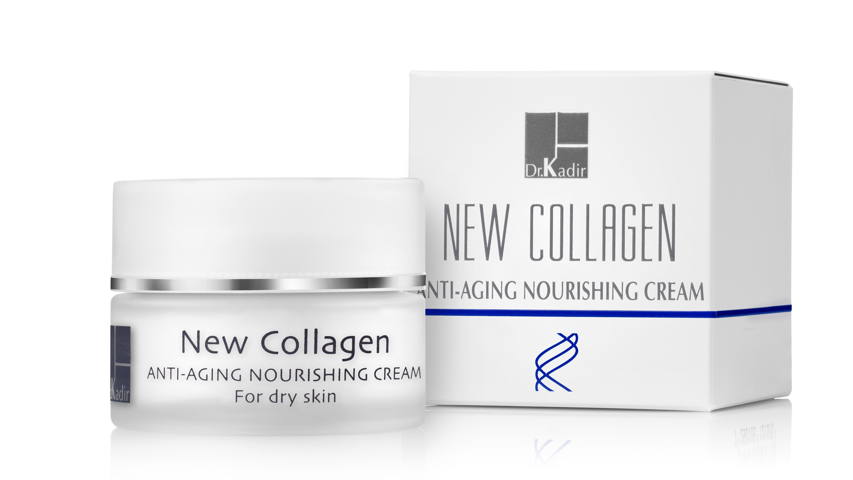 DR KADIR Крем питательный для сухой кожи / New Collagen home care 50мл dr kadir крем активный дневной deep restore home care 50мл