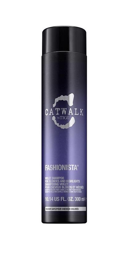 TIGI Шампунь для коррекции цвета осветленных волос / CATWALK Fashionista 300 мл