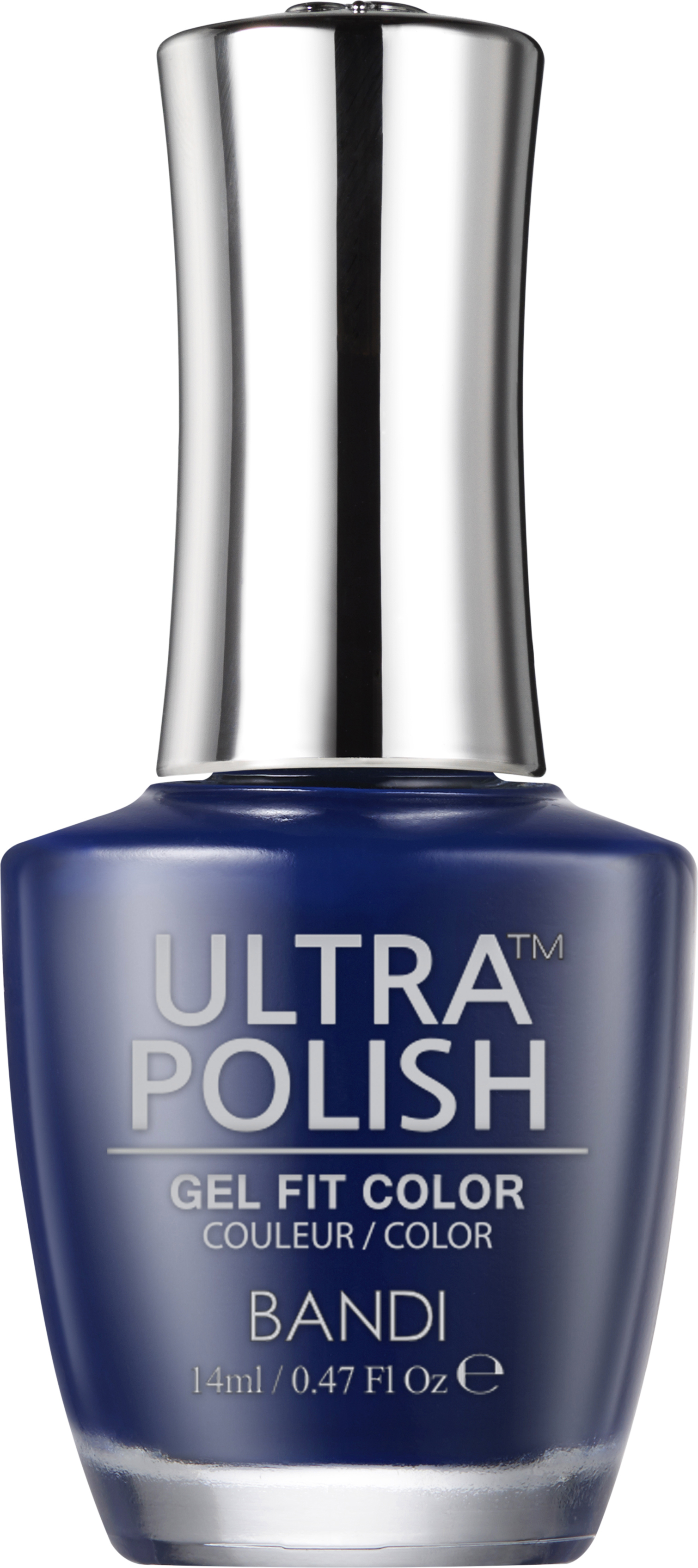 Купить BANDI UP407 ультра-покрытие долговременное цветное для ногтей / ULTRA POLISH GEL FIT COLOR 14 мл, Синие