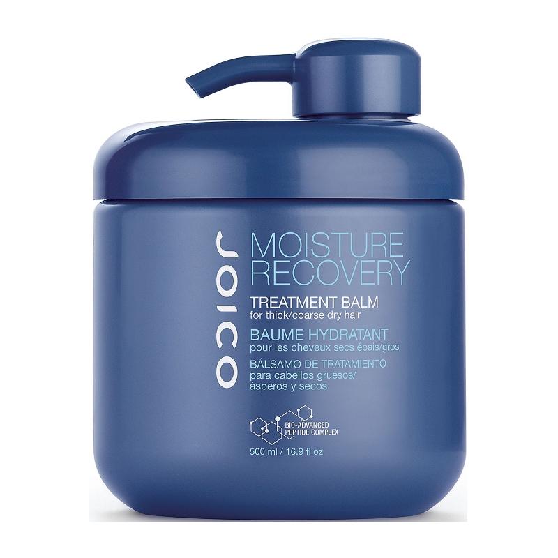 JOICO Маска для жестких и сухих волос / MOISTURE RECOVERY 500млМаски<br>Интенсивная маска, восстанавливающая влагу в волосах. рН 3,5-4,5. Делает волосы увлажненными, мягкими, гладкими, более управляемыми и блестящими. Идеально подходит для жестких, грубых, сухих и вьющихся волос. Способ применения: равномерно распределить по длине вымытых шампунем волос. Оставить на 3-5 минут. Смыть.<br><br>Вид средства для волос: Восстанавливающий