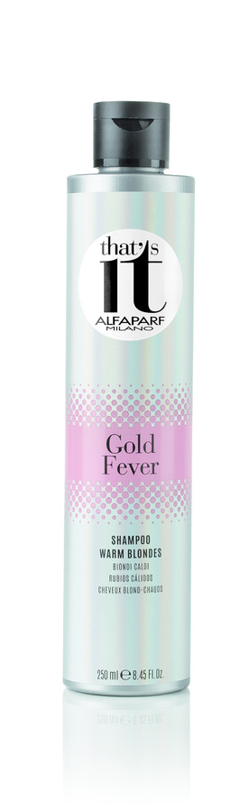 ALFAPARF MILANO ������� ���������� � ������ ������� ����� ����� / THAT'S IT GOLD FEVER SHAMPOO 250��