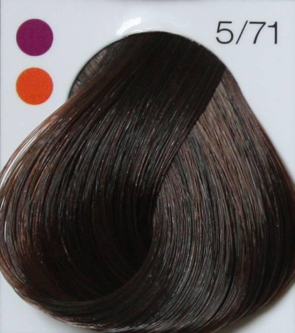 LONDA PROFESSIONAL 5/71 Краска для волос LC NEW инт.тонирование светлый шатен коричнево-пепельный, 60мл