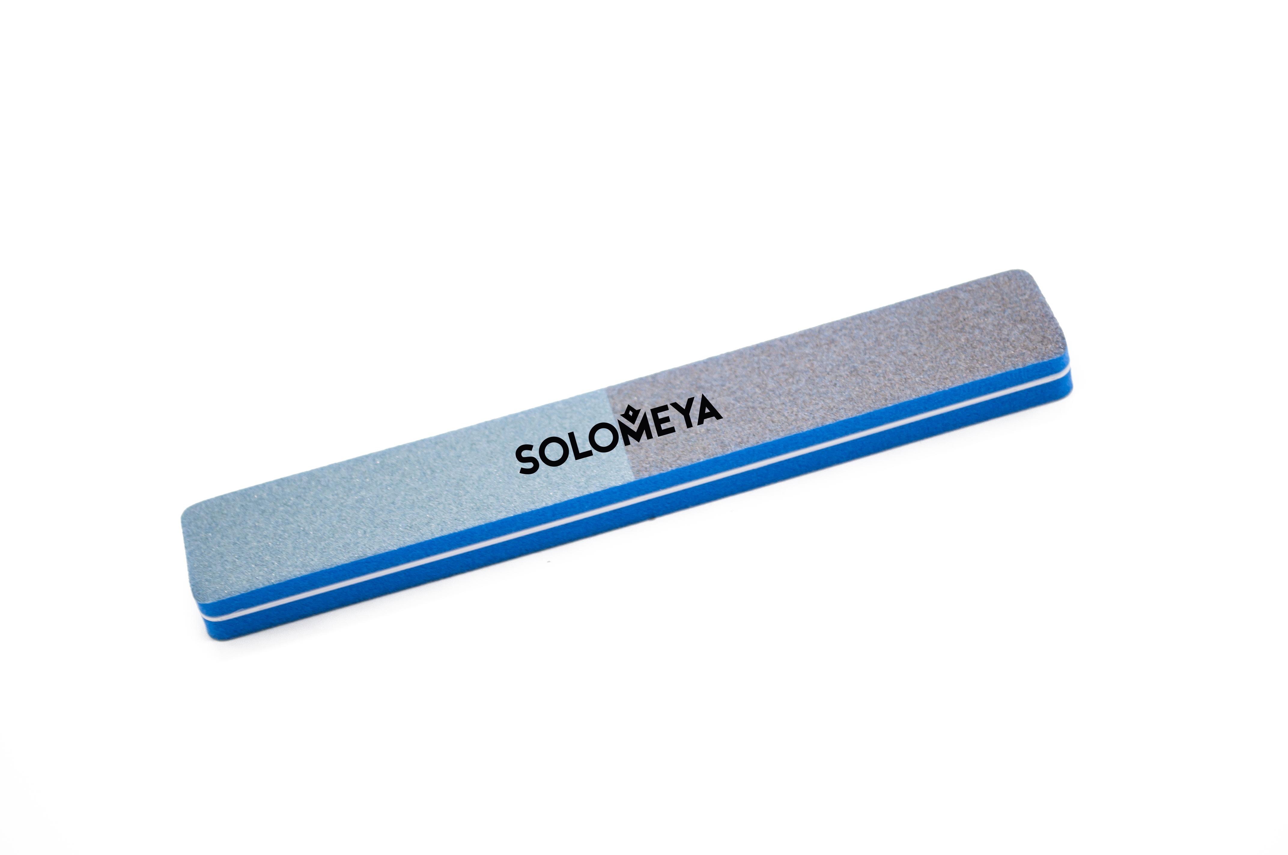 SOLOMEYA Буффер-шлифовщик широкий 4-х сторонний 120/180/280/400 / 4 WAY Sanding Sponge 120/180/280/400