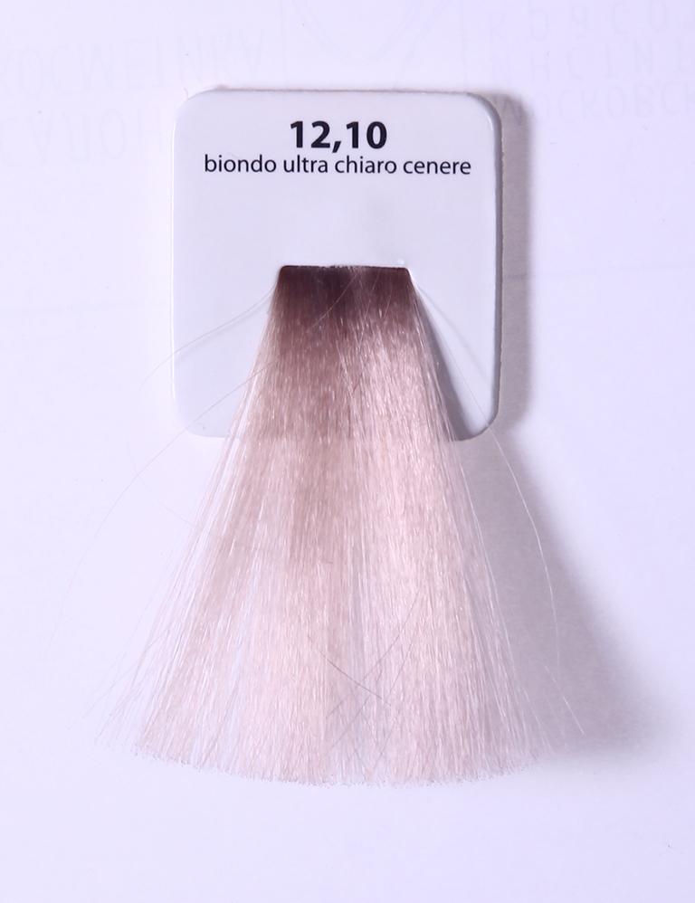 KAARAL 12.10 краска для волос / Sense COLOURS 60млКраски<br>12.10 экстра светлый пепельный блондин Перманентные красители. Классический перманентный краситель бизнес класса. Обладает высокой покрывающей способностью. Содержит алоэ вера, оказывающее мощное увлажняющее действие, кокосовое масло для дополнительной защиты волос и кожи головы от агрессивного воздействия химических агентов красителя и провитамин В5 для поддержания внутренней структуры волоса. При соблюдении правильной технологии окрашивания гарантировано 100% окрашивание седых волос. Палитра включает 93 классических оттенка. Способ применения: Приготовление: смешивается с окислителем OXI Plus 6, 10, 20, 30 или 40 Vol в пропорции 1:1 (60 г красителя + 60 г окислителя). Суперосветляющие оттенки смешиваются с окислителями OXI Plus 40 Vol в пропорции 1:2. Для тонирования волос краситель используется с окислителем OXI Plus 6Vol в различных пропорциях в зависимости от желаемого результата. Нанесение: провести тест на чувствительность. Для предотвращения окрашивания кожи при работе с темными оттенками перед нанесением красителя обработать краевую линию роста волос защитным кремом Вaco. ПЕРВИЧНОЕ ОКРАШИВАНИЕ Нанести краситель сначала по длине волос и на кончики, отступив 1-2 см от прикорневой части волос, затем нанести состав на прикорневую часть. ВТОРИЧНОЕ ОКРАШИВАНИЕ Нанести состав сначала на прикорневую часть волос. Затем для обновления цвета ранее окрашенных волос нанести безаммиачный краситель Easy Soft. Время выдержки: 35 минут. Корректоры Sense. Используются для коррекции цвета, усиления яркости оттенков, создания новых цветовых нюансов, а также для нейтрализации нежелательных оттенков по законам хроматического круга. Содержат аммиак и могут использоваться самостоятельно. Оттенки: T-AG - серебристо-серый, T-M - фиолетовый, T-B - синий, T-RO - красный, T-D - золотистый, 0.00 - нейтральный. Способ применения: для усиления или коррекции цвета волос от 2 до 6 уровней цвета корректоры добавляются в краситель по