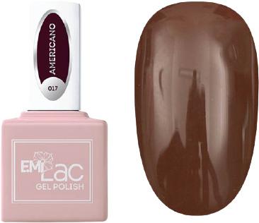 E.MI 017 гель-лак для ногтей, Американо / E.MiLac 6 мл