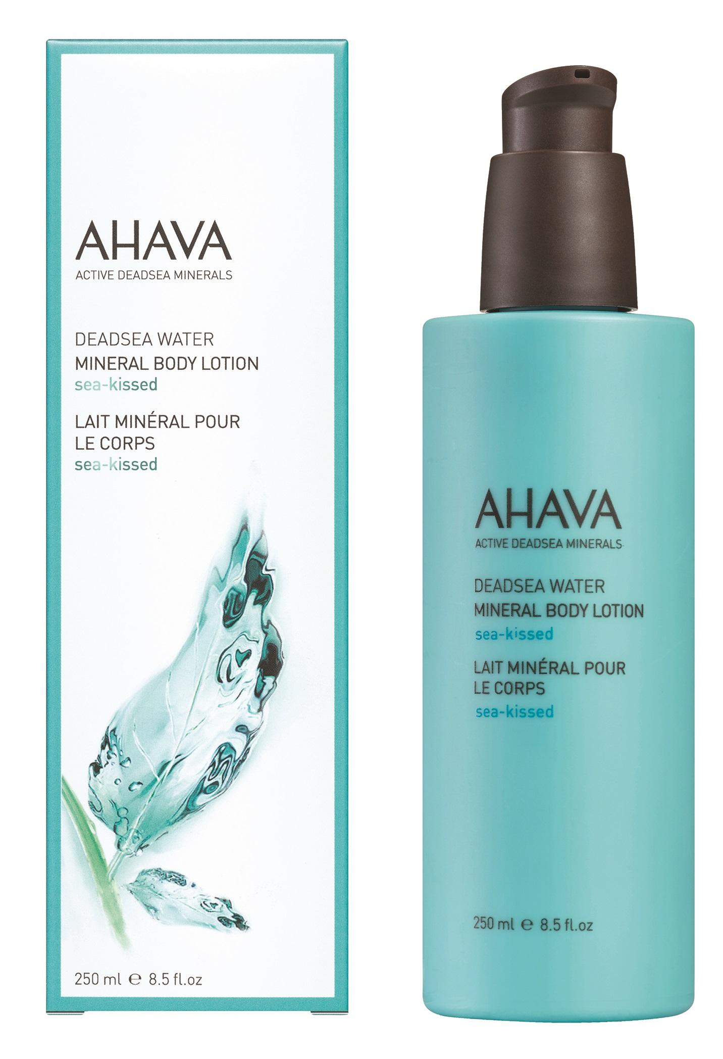 AHAVA Крем минеральный для тела / Sea Kissed Deadsea Water 250 мл -  Лосьоны