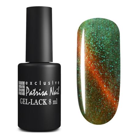 Купить PATRISA NAIL K2 гель-лак для ногтей Кошачий глаз, малахит 8 мл