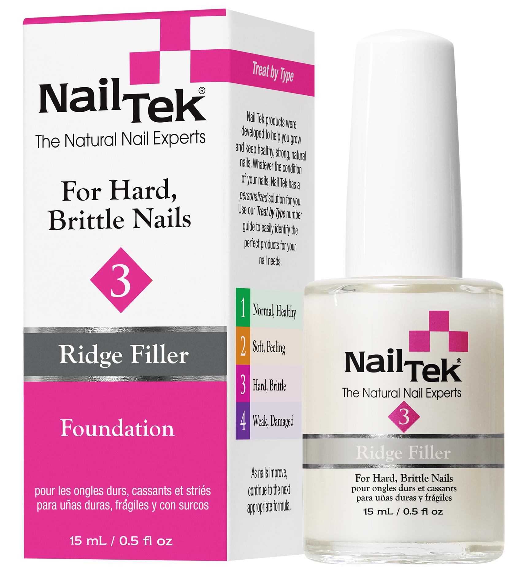 NAIL TEK Покрытие базовое выравнивающее для сухих, ломких ногтей / FOUNDATION 3 15 мл - Базовые покрытия