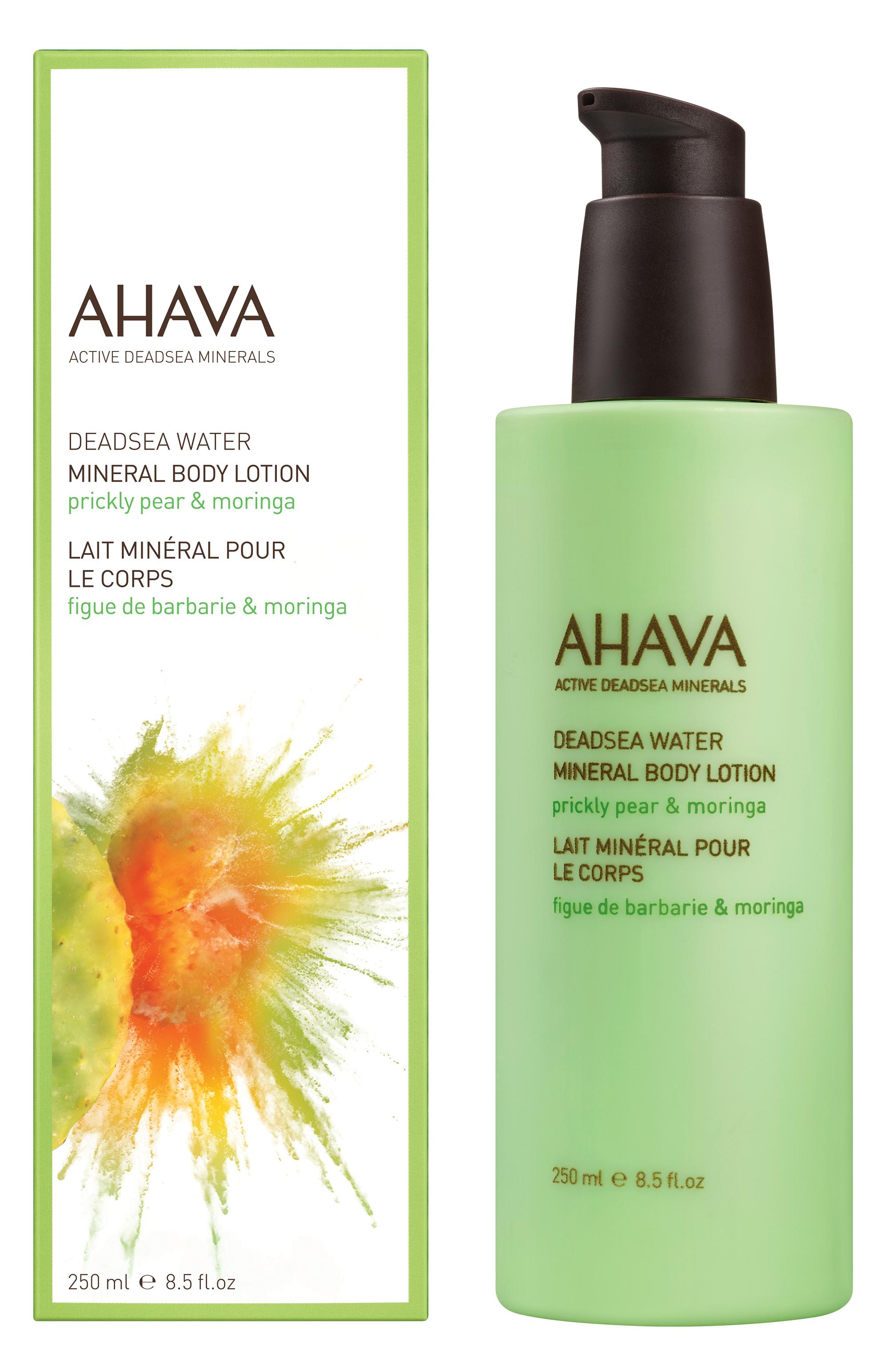 AHAVA Крем минеральный для тела, опунция и моринга / Deadsea Water 250 мл -  Лосьоны