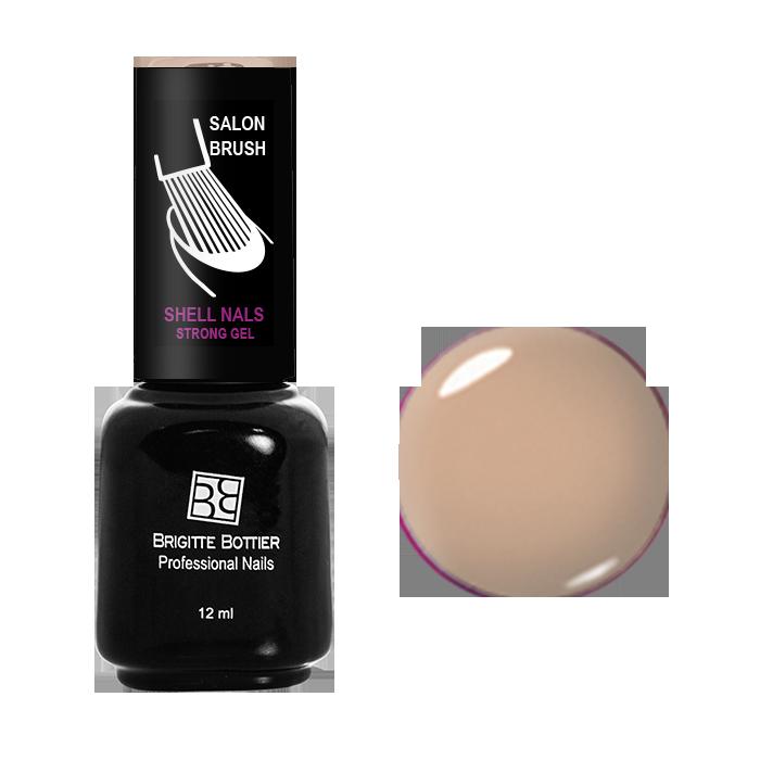 BRIGITTE BOTTIER 923 гель-лак для ногтей & Бежевый&  / Shell Nails 12мл -  Гель-лаки