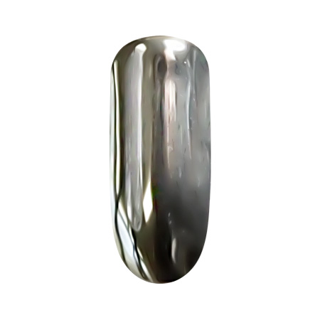 PATRISA NAIL Втирка Зеркальный блеск, серебро, супер мелкий помол