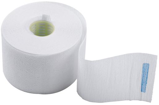 DEWAL PROFESSIONAL Воротнички бумажные с синей липучкой 100 шт