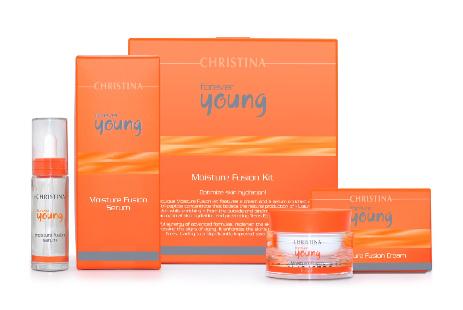 CHRISTINA ����� ��� ������������ ���������� ���� (2 ���������) / Moisture Fusion Kit FOREVER YOUNG