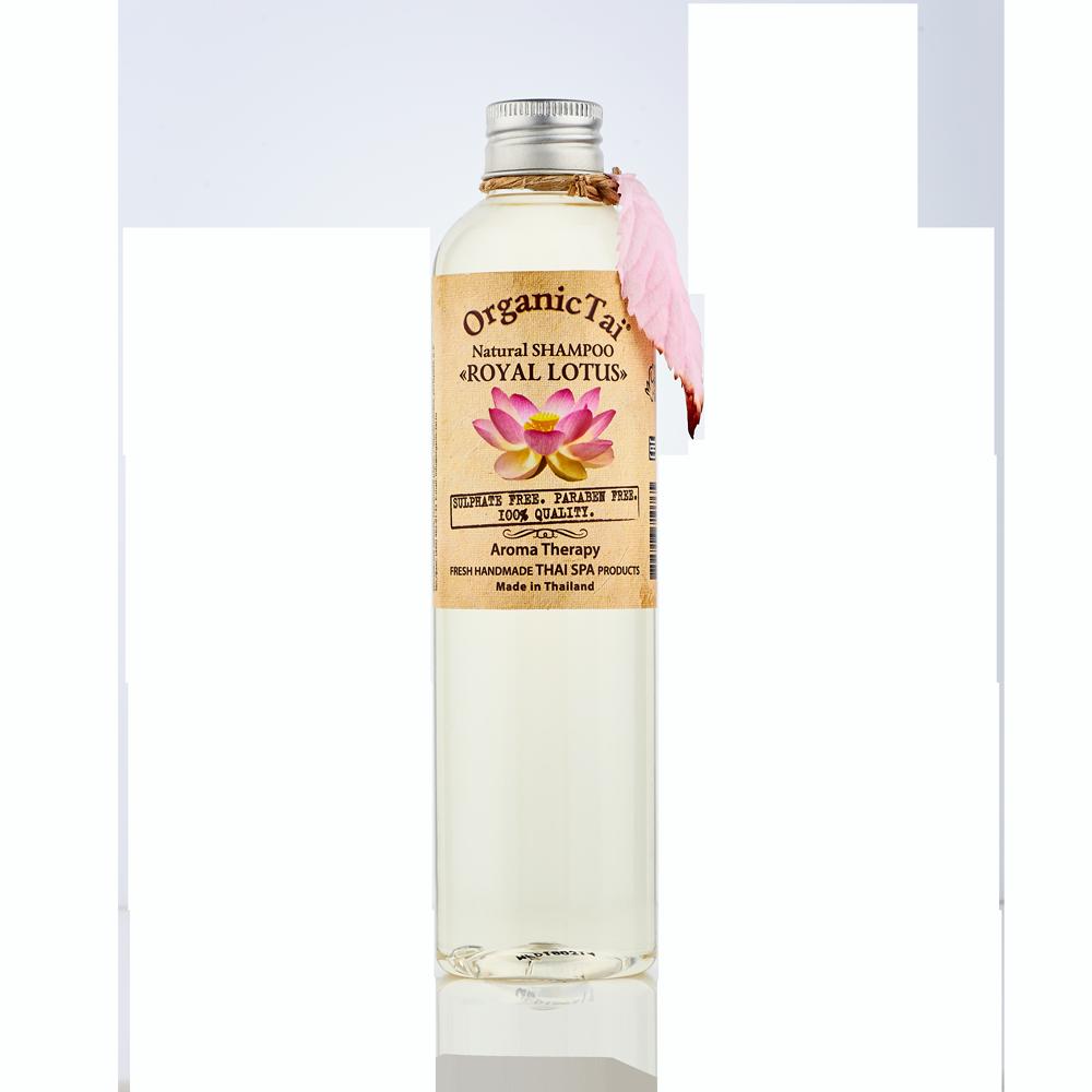 Купить ORGANIC TAI Шампунь натуральный для волос Королевский лотос 260 мл