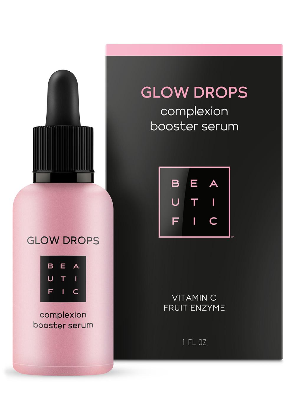 BEAUTIFIC Сыворотка-бустер для идеального цвета лица с витамином С / Glow Drops 30 мл фото