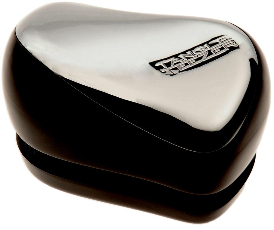 TANGLE TEEZER Расческа / Tangle Teezer Compact Styler StarletРасчески<br>улучшенная версия профессиональной расчески Tangle Teezer для расчесывания волос, стала более компактной и удобней для переноски (защитный колпак для зубчиков). Щетка для волос Tangle Teezer с легкостью поможет расчесать не послушные хрупкие волосы, не нарушая структуру волос. Профессиональная распутывающая расческа Tangle Teezer Compact Styler. Pink Kitty идеально подходит для всех типов волос. Активные ингредиенты. Состав: гипоаллергенный пластик. Способ применения: оригинальная форма зубчиков обеспечивает двойное действие и позволяет быстро и безболезненно расчесать влажные и сухие волосы. Благодаря эргономичному дизайну, расческу удобно держать в руках, не опасаясь выскальзывания. Расческа дополнена удобным футляром.<br><br>Класс косметики: Профессиональная<br>Типы волос: Для всех типов