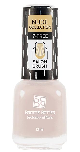 Купить BRIGITTE BOTTIER 185 лак для ногтей, розово-бежевый / Nude Collection 12 мл, Коричневые