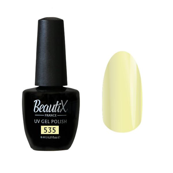 Купить BEAUTIX 535 гель-лак для ногтей 8 мл, Желтые