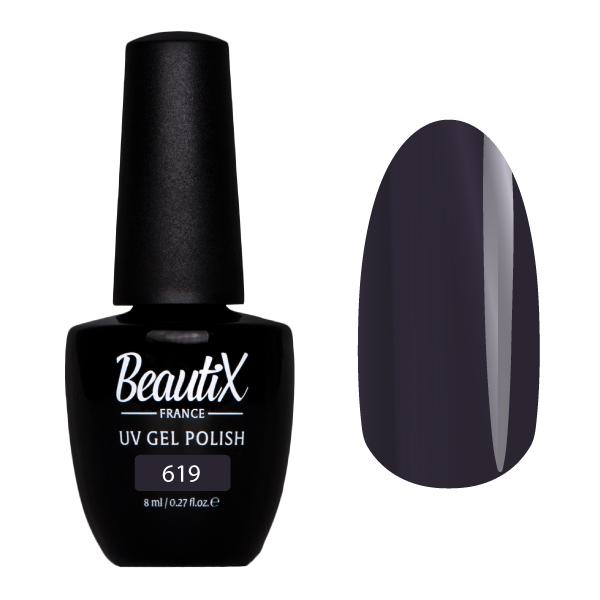 Купить BEAUTIX 619 гель-лак для ногтей 8 мл, Фиолетовые