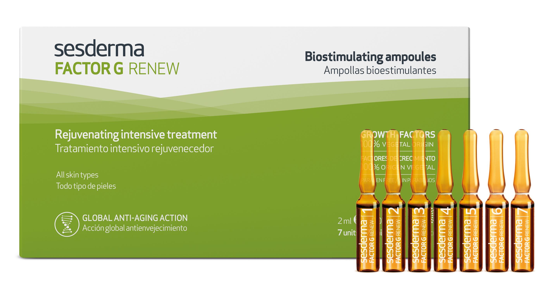 SESDERMA Средство биостиулирующее для лица, в ампулах / FACTOR G 7*2 мл