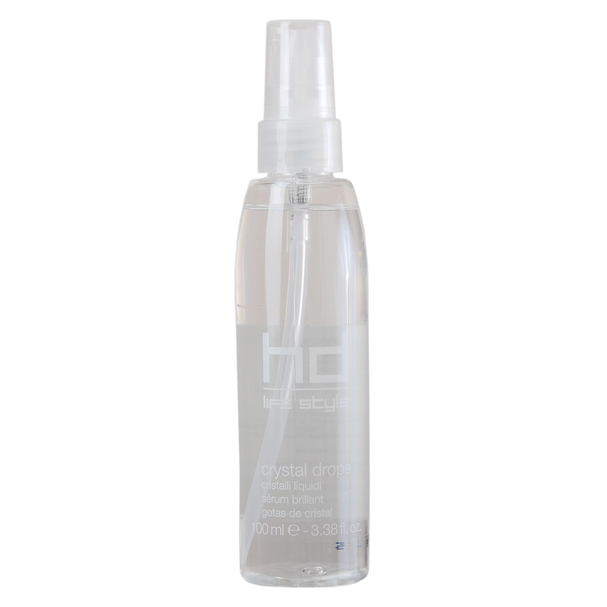 FARMAVITA Капли кристальные HD CRYSTAL DROPS / HD LIFE STYLE 100 млОсобые средства<br>Кристальные капли Crystal drops HD от уникальной итальянской марки FarmaVita созданы для мягкого ухода за секущимися кончиками поврежденных волос. Средство придает волосам соблазнительный блеск и сияние, облегчает расчесывание. Препарат восстанавливает и смягчает посеченные безжизненные концы, придавая волосам шелковистость и здоровый вид. Капли обеспечивают поврежденным волосам яркий цвет, невероятную гладкость и мягкость. Средство не только ухаживает за волосами, но и дарит им чувственный аромат моря. Способ применения: несколько Кристальных капель распределите в руках и нанесите на сухие или увлажненные волосы, уделив внимание кончикам и поврежденным участкам.<br><br>Объем: 100 мл<br>Назначение: Секущиеся кончики