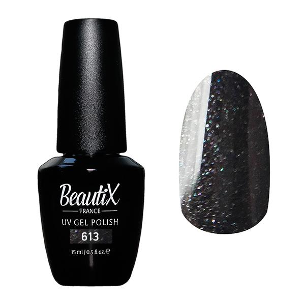 BEAUTIX 613 гель-лак для ногтей 15 мл, Коричневые  - Купить