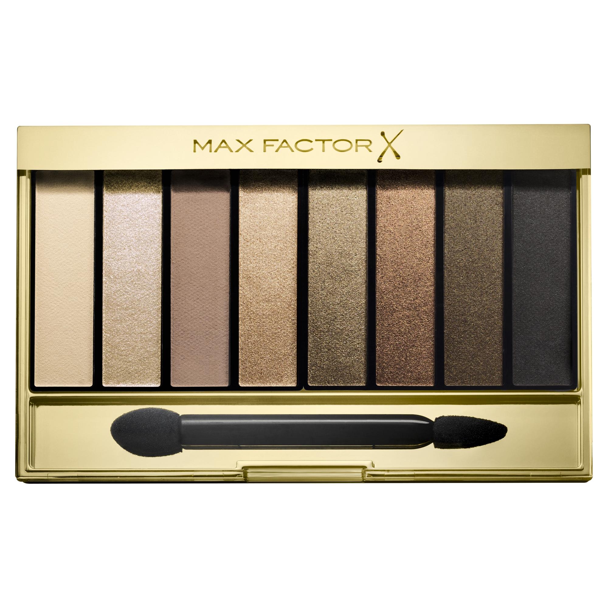 MAX FACTOR Тени для век 02 / Masterpiece Nude Palette golden nudes -  Тени