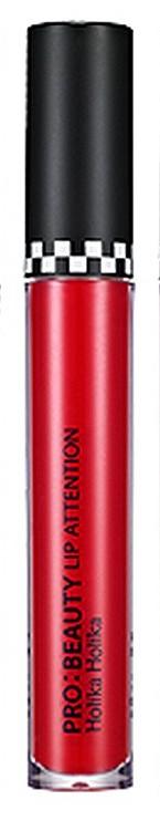 "HOLIKA HOLIKA Блеск для губ RD802 (красный) ""Про:бьюти"" / Pro:Beauty Lip Attention Shopper Holic"