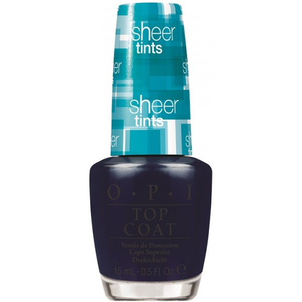 OPI Покрытие верхнее акварельное I can teal you like me / SHEER TINTS 15мл