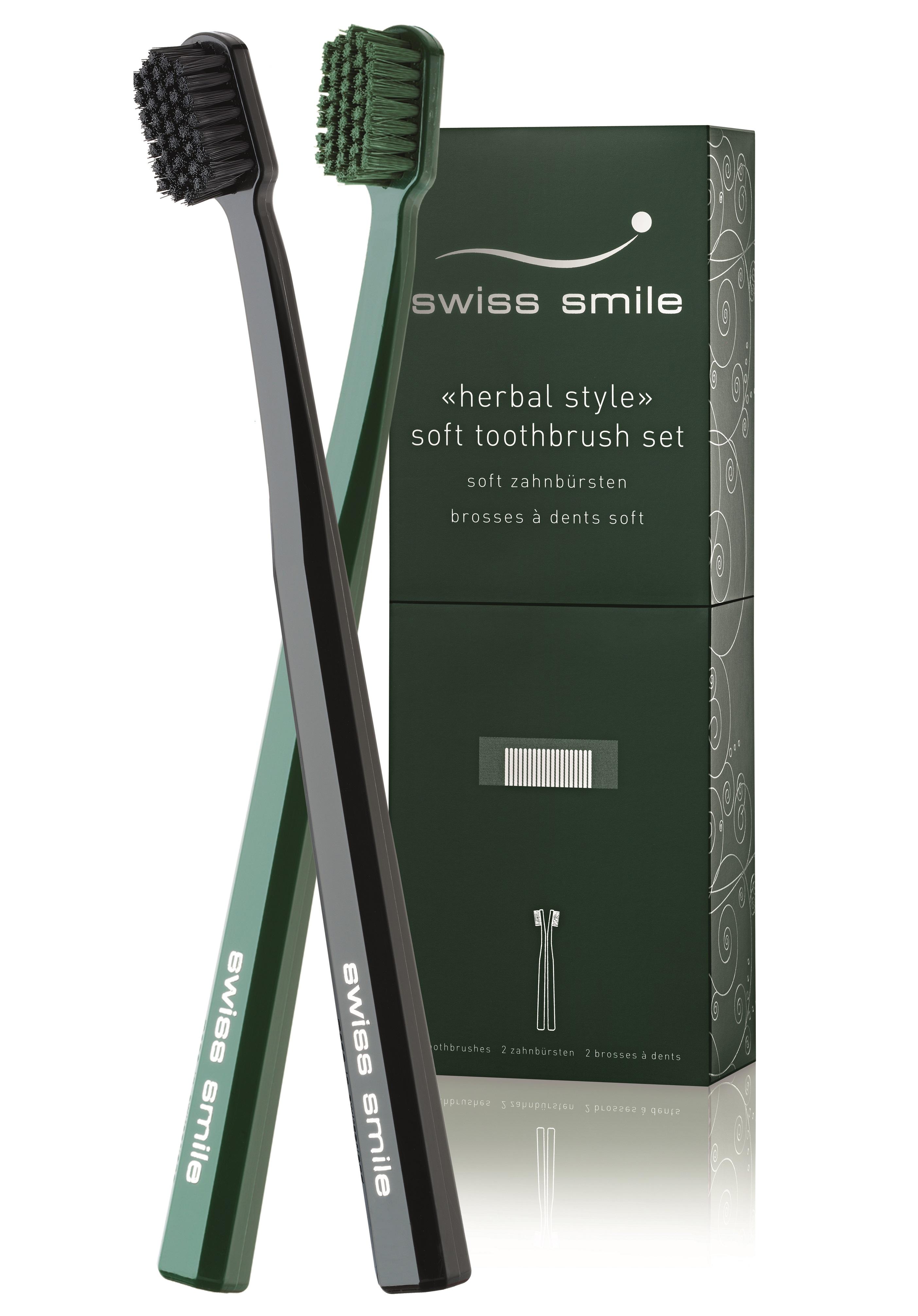 Купить SWISS SMILE Набор мягких зубных щёток Базель / Basel 2 шт