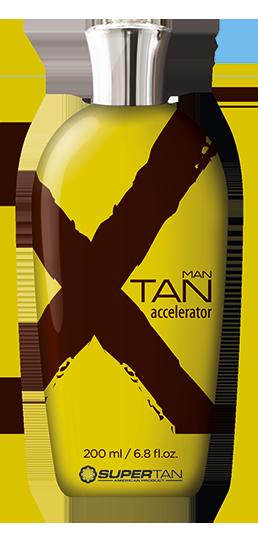SUPER TAN Ускоритель загара активный с эффектом бронзирования для мужчин / X TAN 200 мл