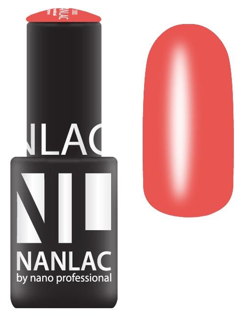 NANO PROFESSIONAL 2082 гель-лак для ногтей, блюз красного / NANLAC 6 мл