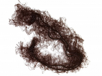 SIBEL Сеточка-паутинка для прически, темно-коричневая 2 шт/уп
