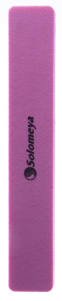 SOLOMEYA Буфер-шлифовщик 120Пилки для ногтей<br>Буфер-шлифовщик Solomeya предназначен для шлифовки искусственных ногтей. Его основу составляет силиконовая прослойка с нанесенной на нее полиэтиленовой пеной, которая позволяет мягко регулировать давление и полностью исключает травмирование ногтей при опиливании искусственного материала. Способ применения: Рекомендуется для профессионального маникюра и педикюра. Может использоваться как в салонах, так и в домашних условиях.<br>