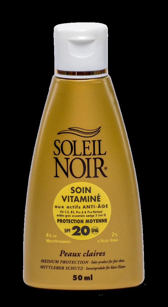 SOLEIL NOIR Крем антивозрастной витаминизированный Средняя степень защиты SPF20 / SOIN VITAMINE 50мл