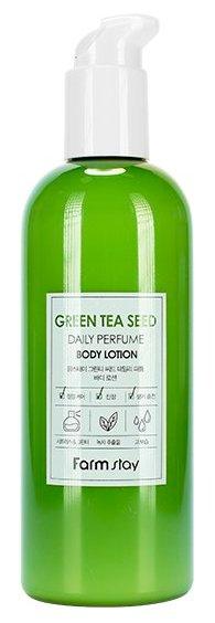 FARMSTAY Лосьон парфюмированный с экстрактом зеленого чая для тела 330 мл