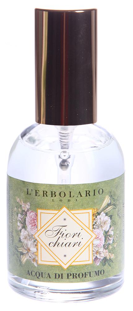 LERBOLARIO Вода парфюмированная Белые цветы 50 млПарфюмерия<br>Парфюмированная вода Белые цветы - это неповторимый коктейль ароматов, чистый, живой и простой, который будет сопровождать вас целый день. Волшебный букет цветов, свежий и яркий, представляет собой первый порыв благоухающих цветов цитрусовых: бергамота, мандарина, грейпфрута.<br>