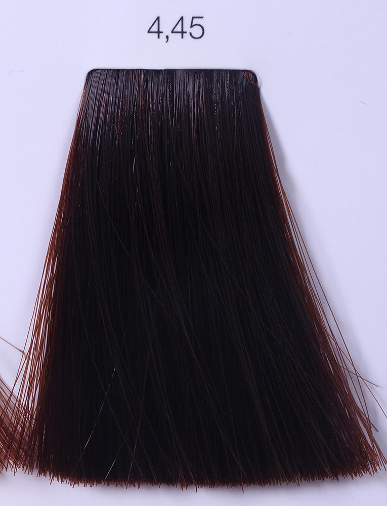LOREAL PROFESSIONNEL 4.45 краска для волос / ИНОА ODS2 60грКраски<br>INOA - первый краситель, позволяющий достичь желаемых результатов окрашивания, окрашивать тон в тон, осветлять волосы на 3 тона, идеально закрашивает седину и при этом не повреждает структуру волос, поскольку не содержит аммиака. Получить стойкие, насыщенные цвета позволяет инновационная технология Oil Delivery System (ODS) система доставки красителя при помощи масла. Благодаря удивительному действию системы ODS при нанесении, смесь, обволакивая волос, как льющееся масло, проникает внутрь ткани волос, чтобы создать безупречный цвет. Уникальность системы ODS состоит также в ее умении обогащать структуру волоса активными защитными элементами, который предотвращает повреждения и потерю цвета.  После использования красителя окислением без аммиака Inoa 4.20 от LOreal Professionnel волосы приобретают однородный насыщенный цвет, выглядят идеально гладкими, блестящими и шелковистыми, как будто Вы сделали окрашивание и ламинирование за одну процедуру.  Способ применения: Приготовьте смесь из красителя Inoa ODS 2 и Оксидента Inoa ODS 2 в пропорции 1:1. Нанесите смесь на сухие или влажные волосы от корней к кончикам. Не добавляйте воду в смесь! Подержите краску на волосах 30 минут. Затем тщательно промойте волосы до получения чистой, неокрашенной воды.<br><br>Цвет: Корректоры и другие<br>Типы волос: Для всех типов