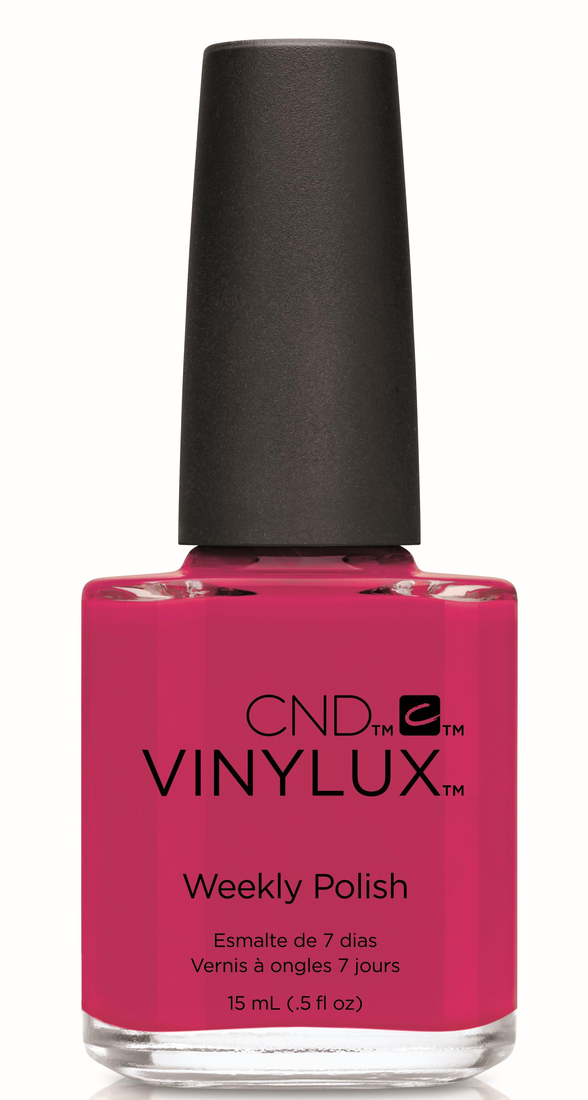 "CND 237 лак недельный для ногтей ""Pink Leggins"" / VINYLUX New Wave Collection 15мл"